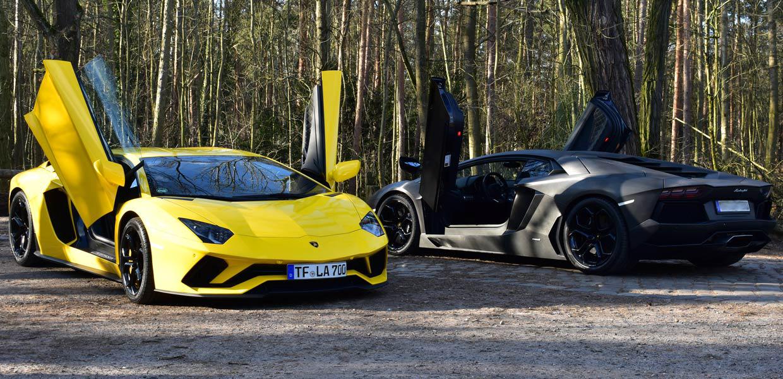 Lamborghini Aventador S mieten