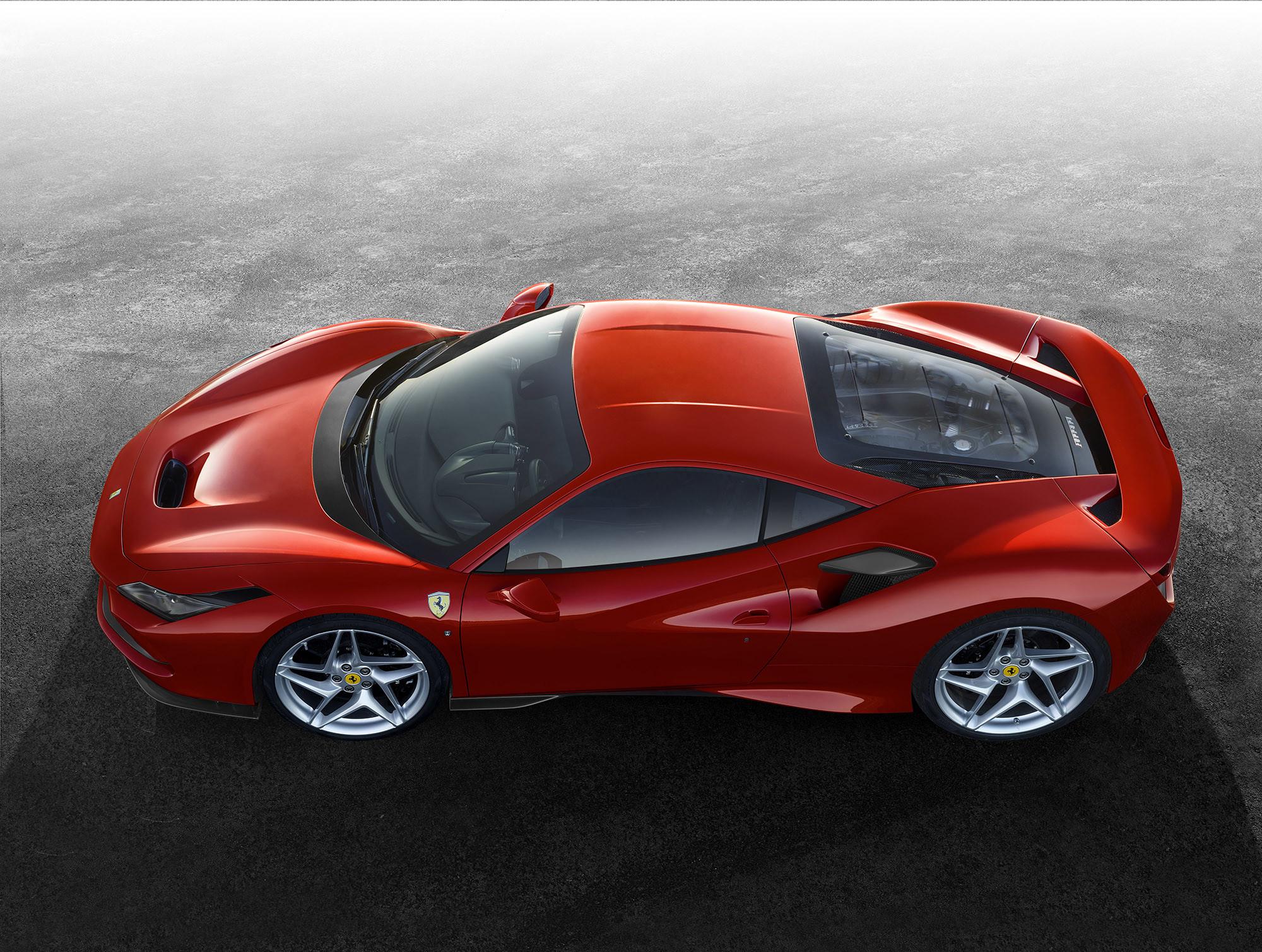 Ferrari F8 Tributo mieten