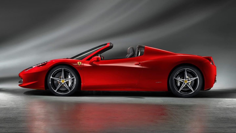 Ferrari 458 Spider mieten