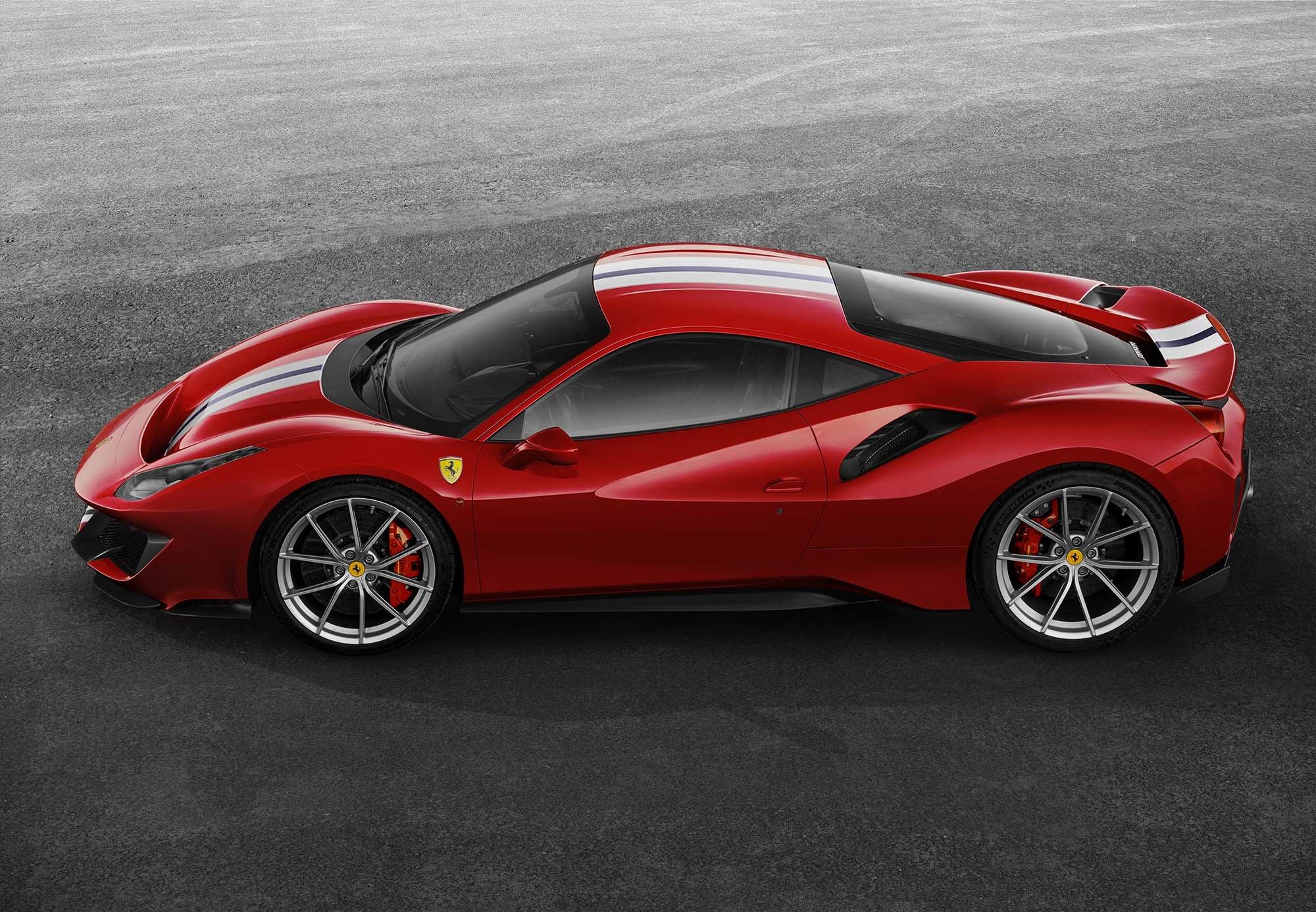 Ferrari 488 Pista mieten