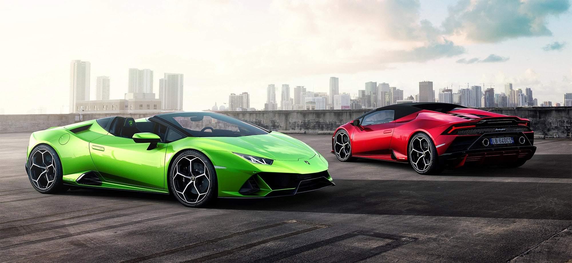 Lamborghini Huracán Evo Spyder mieten